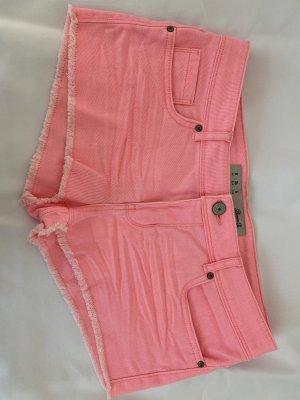 Denim Co. Shorts neon pink