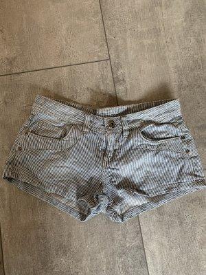 Primark Shorts white-cornflower blue