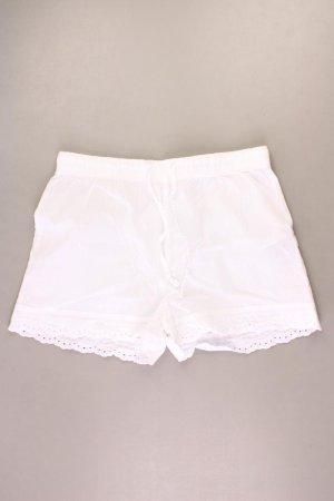 Hotpants Größe 40/42 weiß aus Baumwolle