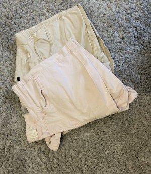Hotpants in beige und rosa