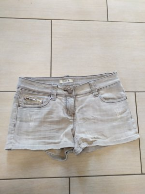 Pimkie Short en jean gris clair
