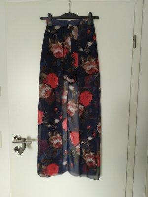 Parisian Hot Pants red-dark blue
