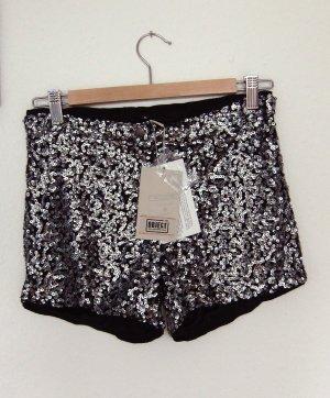Hotpants Pailletten Glamour Shorts