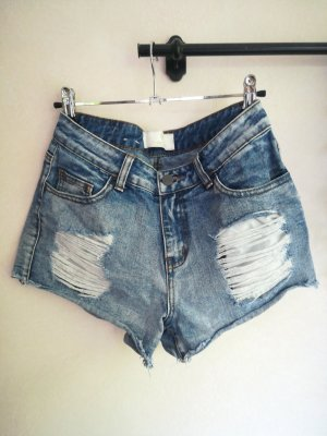 Hotpants, Shorts, destroyed look