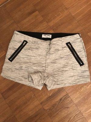 Vero Moda Hot pants wit-zwart