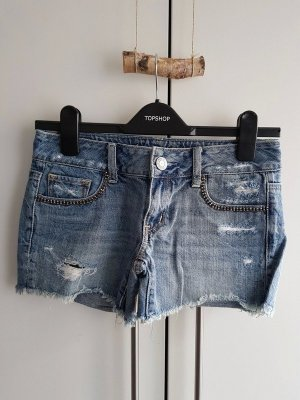 American Eagle Outfitters Denim Shorts multicolored cotton