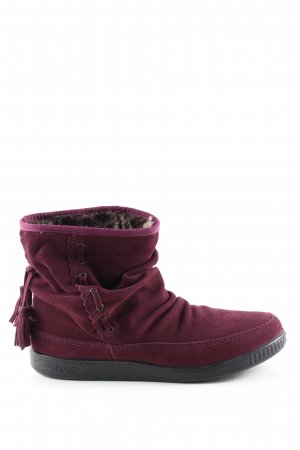 hotter Slouch Booties red casual look