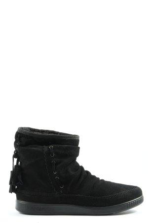 hotter Botines de invierno negro look casual