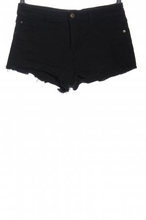 House Jeansshorts schwarz Casual-Look
