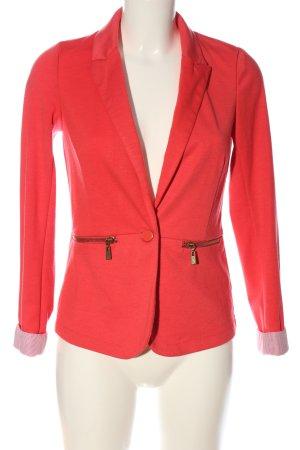 House Kurz-Blazer rot-weiß Streifenmuster Casual-Look