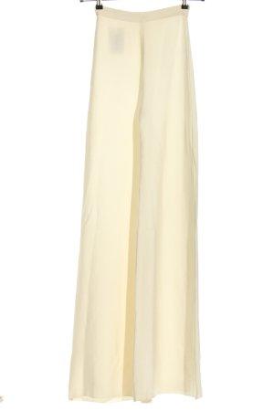 House of CB High Waist Trousers cream elegant