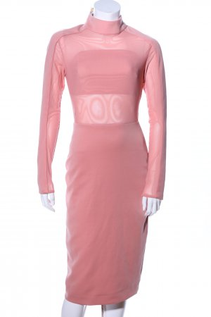 House of CB Langarmkleid pink Elegant
