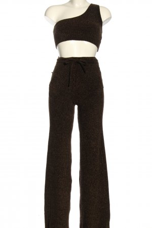 House of CB Strick Twin Set braun Casual-Look