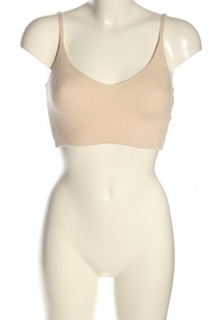 House of CB Stricktop creme Casual-Look