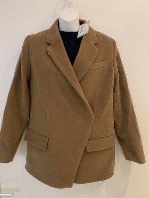House of Dagmar Wool Jacket ocher