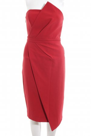 House of London Bandeaukleid rot Elegant