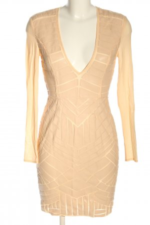 House of London Faux Leather Dress nude elegant