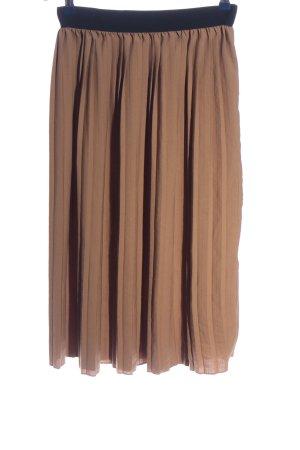House Jupe plissée brun style décontracté