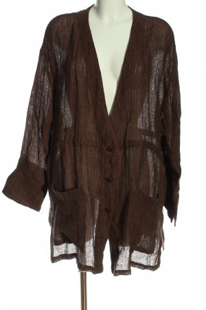 Hoxworth Blouse Jacket brown casual look