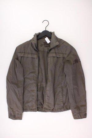 HRC Jacke Größe 38 olivgrün aus Baumwolle