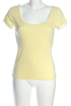 HRC T-Shirt blassgelb Casual-Look