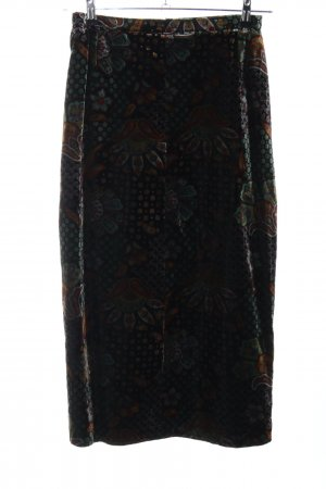 HS Fashion Maxi Skirt flower pattern casual look