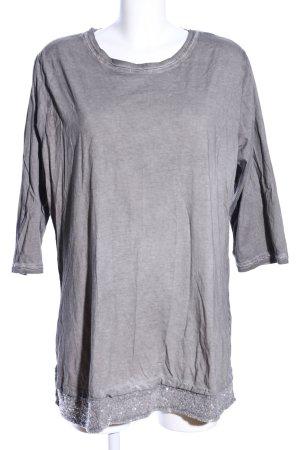 HS Navigazione Shirt Tunic light grey flecked casual look