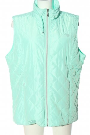 HS Navigazione Quilted Gilet turquoise quilting pattern casual look