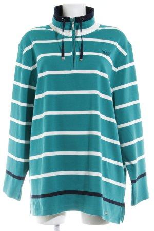 HS Navigazione Sweatshirt Streifenmuster