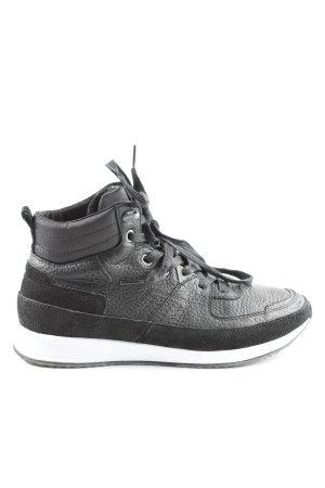 Hub High Top Sneaker schwarz Casual-Look