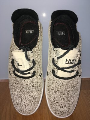 HUB KYOTO, Sneaker low, all-over Muster, Gr.: 38