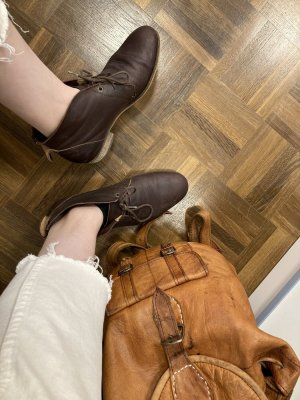 Hub Botas de tobillo marrón-coñac
