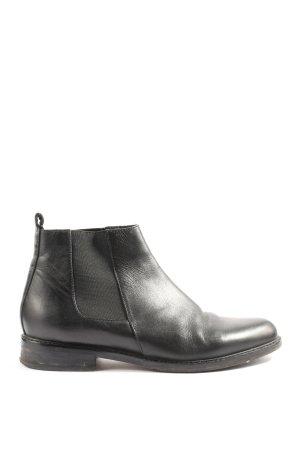 Huber Chelsea Boots schwarz Casual-Look