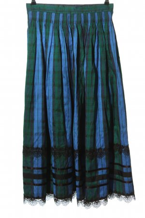 Huber Traditional Skirt check pattern classic style