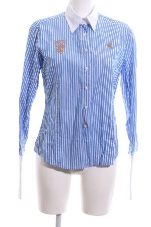Huberman's Hemd-Bluse Streifenmuster Casual-Look