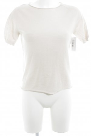 Hubert Gasser Bozen T-Shirt creme schlichter Stil