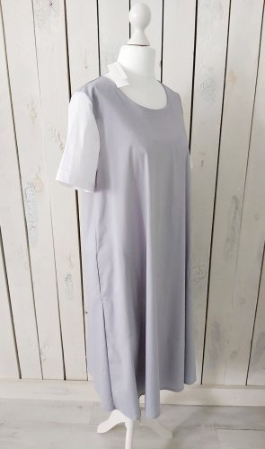 Hubert Gasser Trapezkleid Kleid m. Einschubtaschen grau Gr. 34 Neu m. Etikett