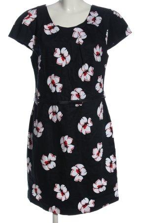 Hucke Mini Dress allover print business style