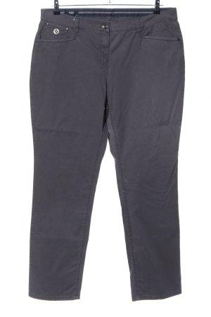 Hucke Pantalon en jersey gris clair style décontracté