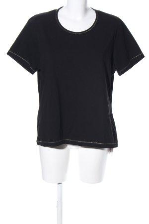Hucke T-Shirt schwarz Casual-Look