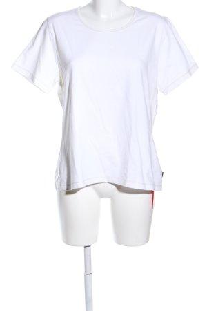 Hucke T-Shirt weiß Casual-Look