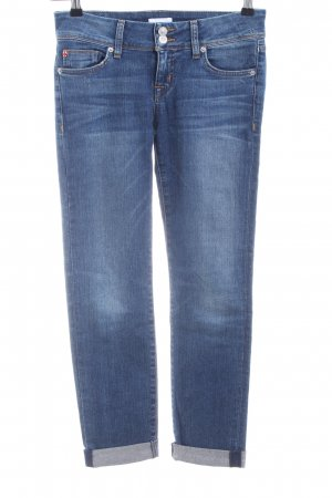 Hudson Boyfriend jeans blauw casual uitstraling