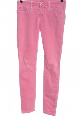 Hudson Pantalone cinque tasche rosa stile casual
