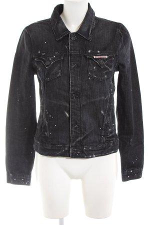 Hudson Jeansjacke schwarz Casual-Look
