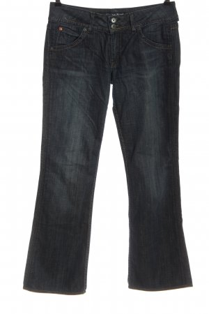 Hudson Jeans a zampa d'elefante blu stile casual