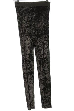 Hudson Leggings nero-bianco motivo astratto stile casual