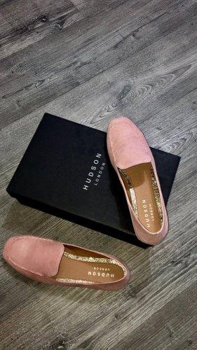 Hudson London Slipper in Apricot, Schuhgröße 39