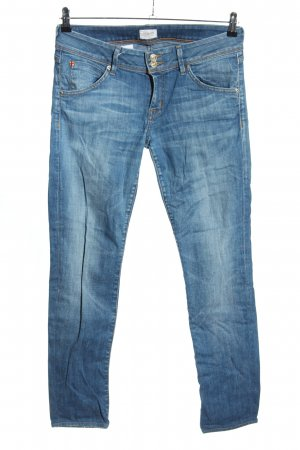 Hudson Röhrenjeans blau Casual-Look