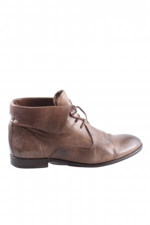 Hudson Botas con cordones marrón estilo «business»