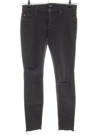 Hudson Skinny Jeans schwarz Casual-Look